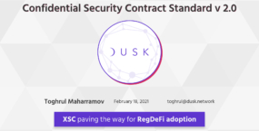 Confidential Security Contract (XSC) Standard V2.0.0